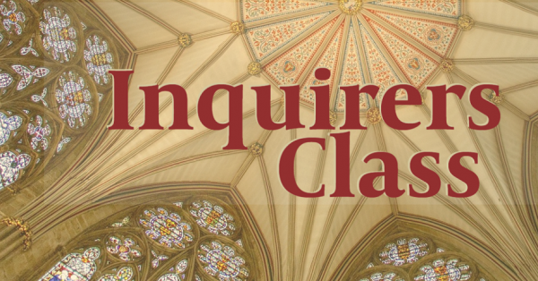 Inquirers Class begins in March
